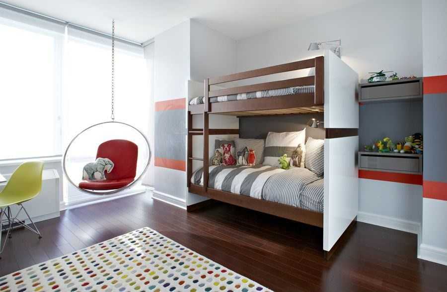 24 modern kids bedroom designs decorating ideas design for Kids bedroom designs