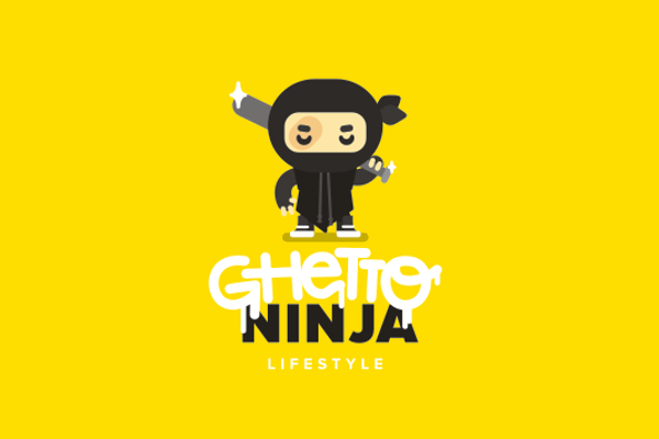 Ghetto Ninja Logo