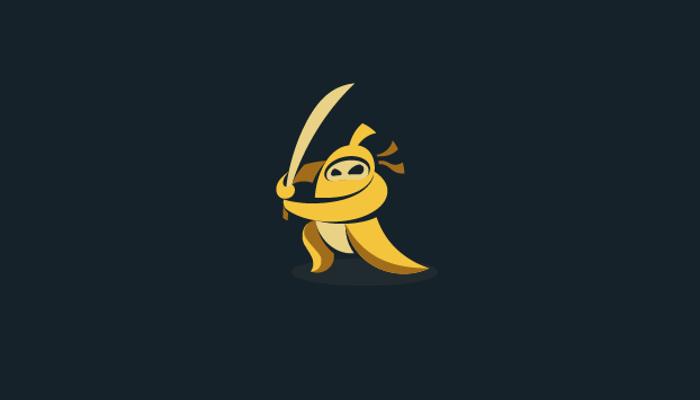 Banana Ninja Logo