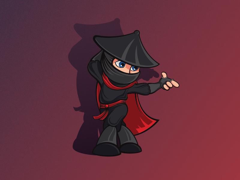 Dancing Ninja Logo
