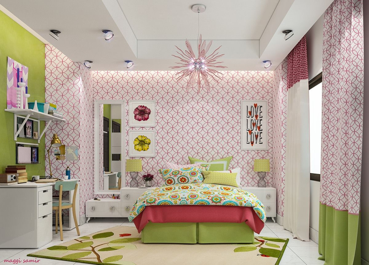 24 modern kids bedroom designs decorating ideas design Modern bedroom ideas for girls