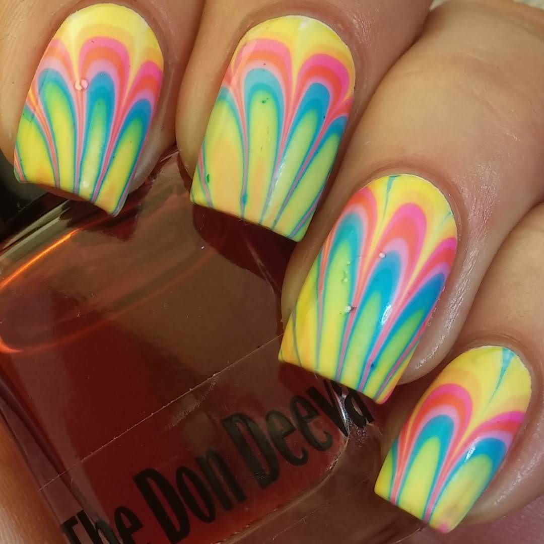 25+ Rainbow Nail Arts, Designs, Ideas | Design Trends - Premium PSD ...