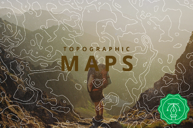 awesome topographic map patterns