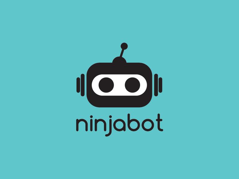 Ninjabot Logo Design