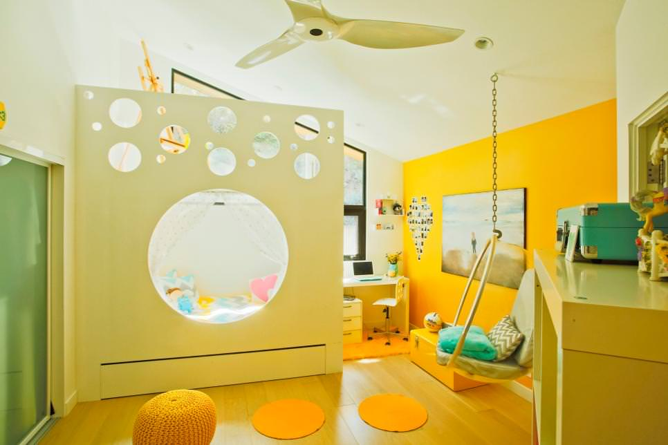 Playful Modern Kids Room