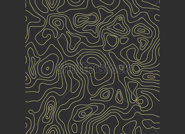 dark topographical map pattern
