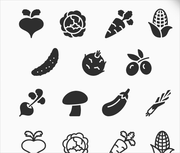 free download vegetarian icon