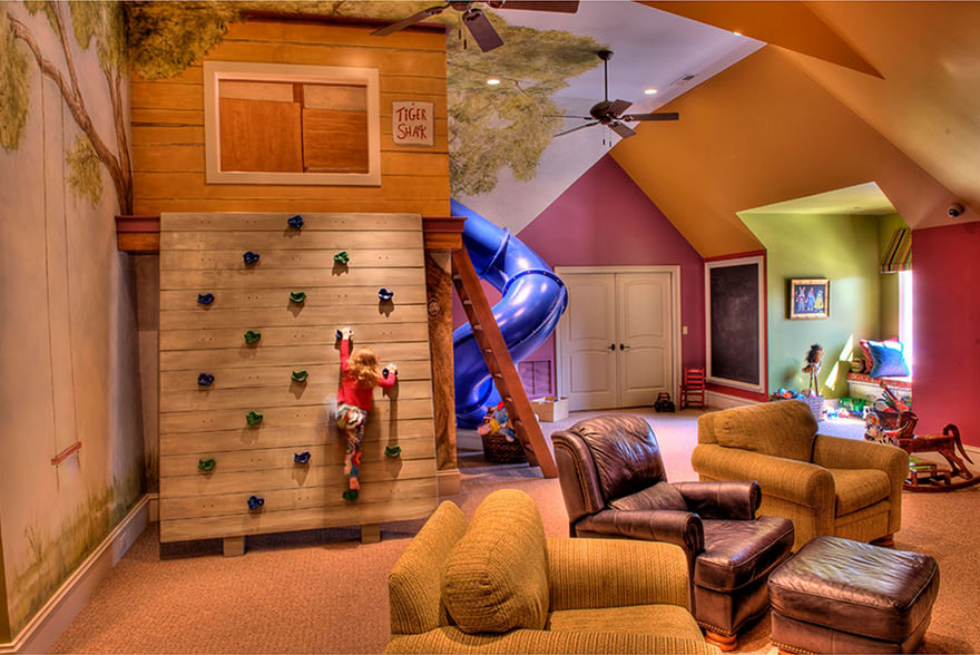 Cool Tree House Kids Room