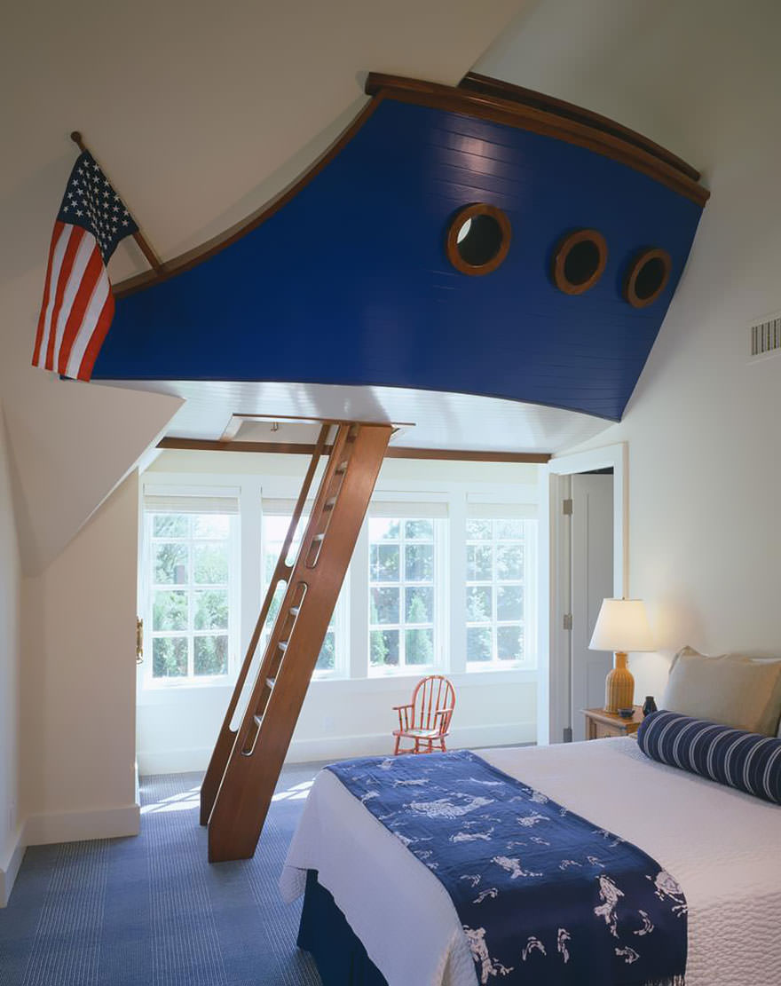 Creative Ship Bed Ideas