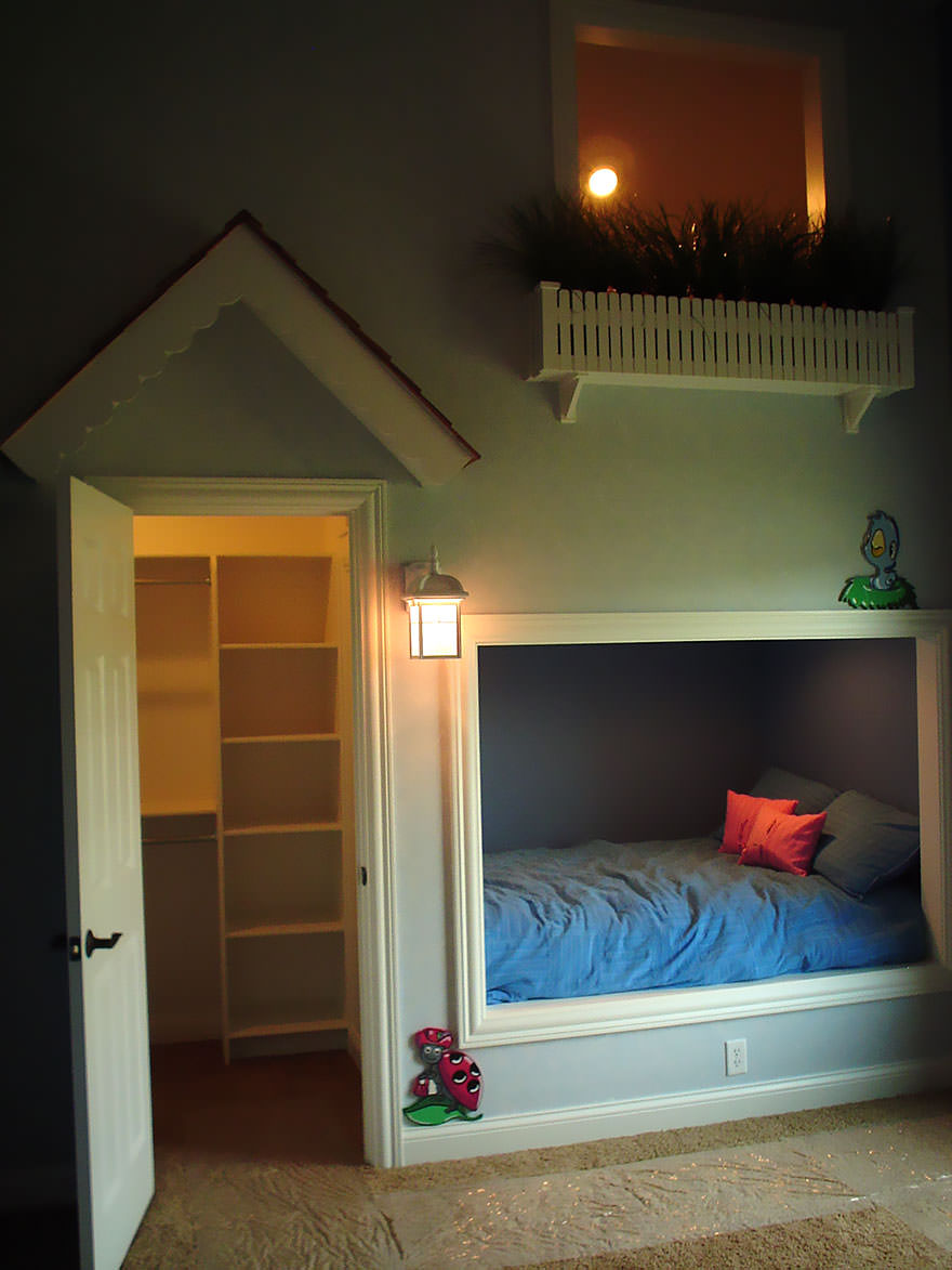 Amazing Kids Buliding Bed Ideas