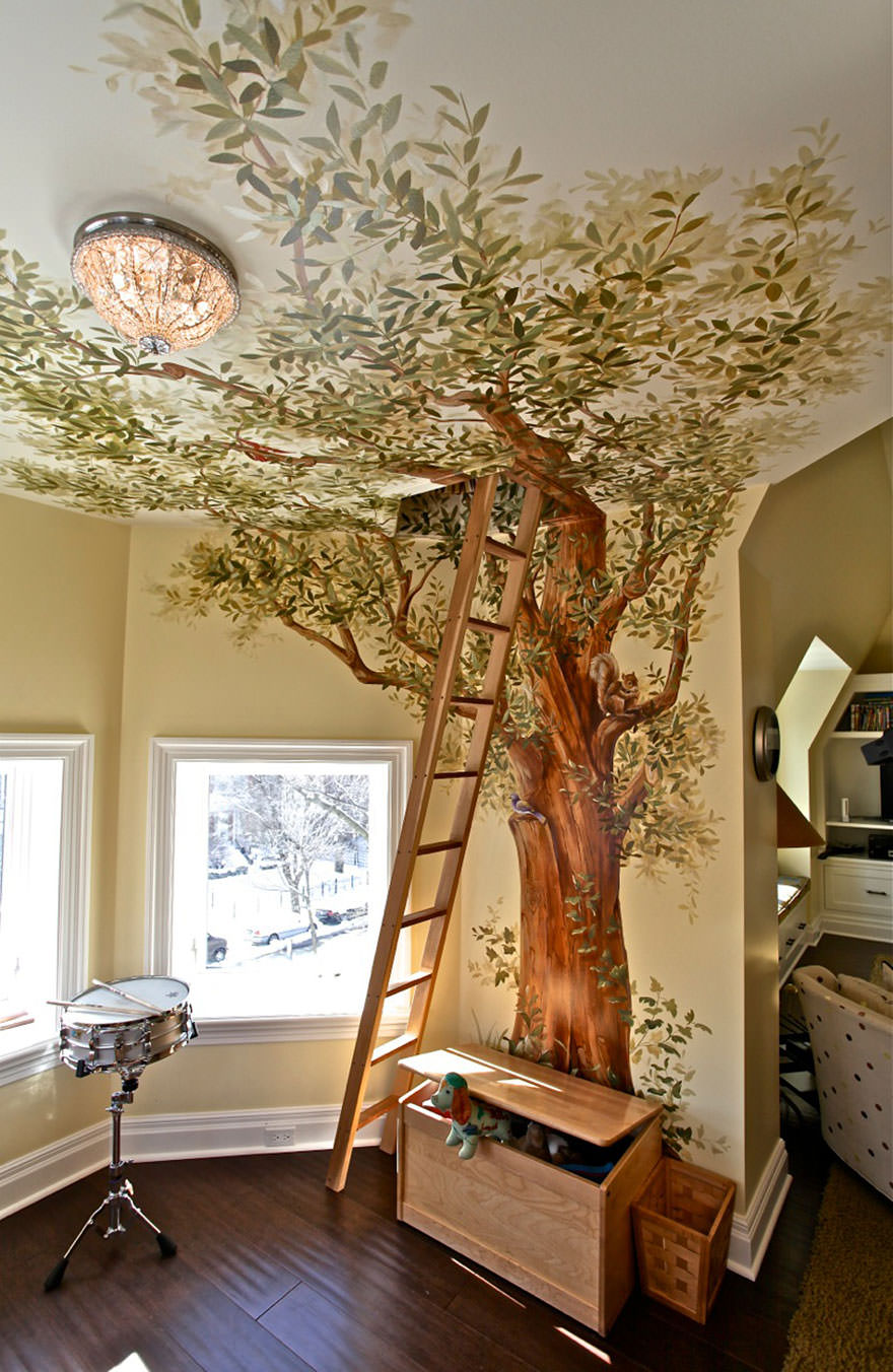 Innovative Tree House Room Ideas