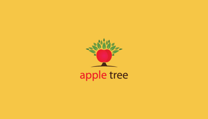 Apple Tree Logo Design