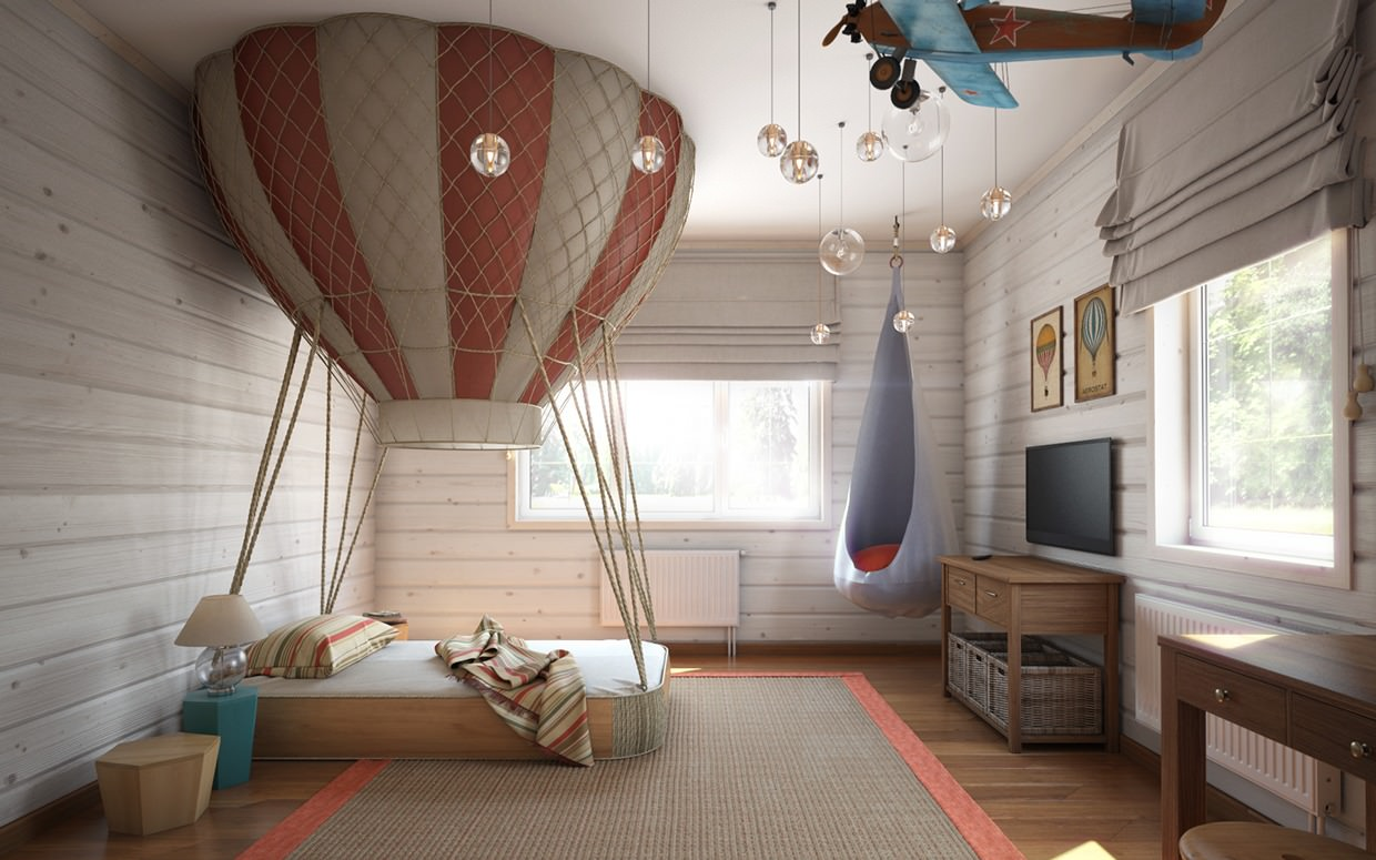 Innovative Air Ballon Bed Ideas