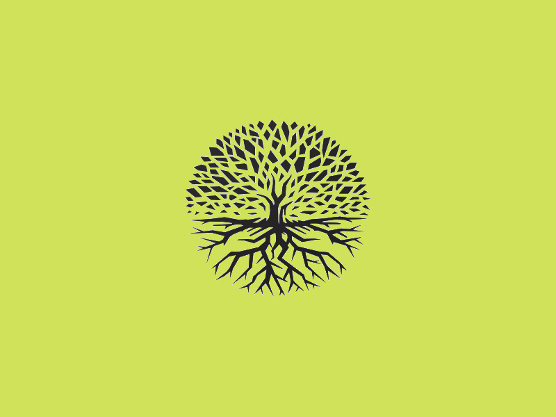 Simple Tree Logo Design