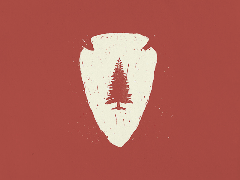 Tree Logo for Clothing