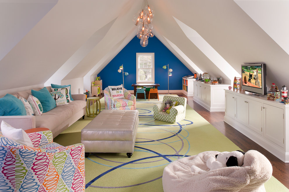 22 child s room design decorating ideas design trends for Teenage playroom design ideas