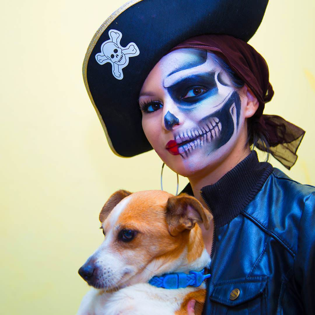 Funny Look Pirate Makeup