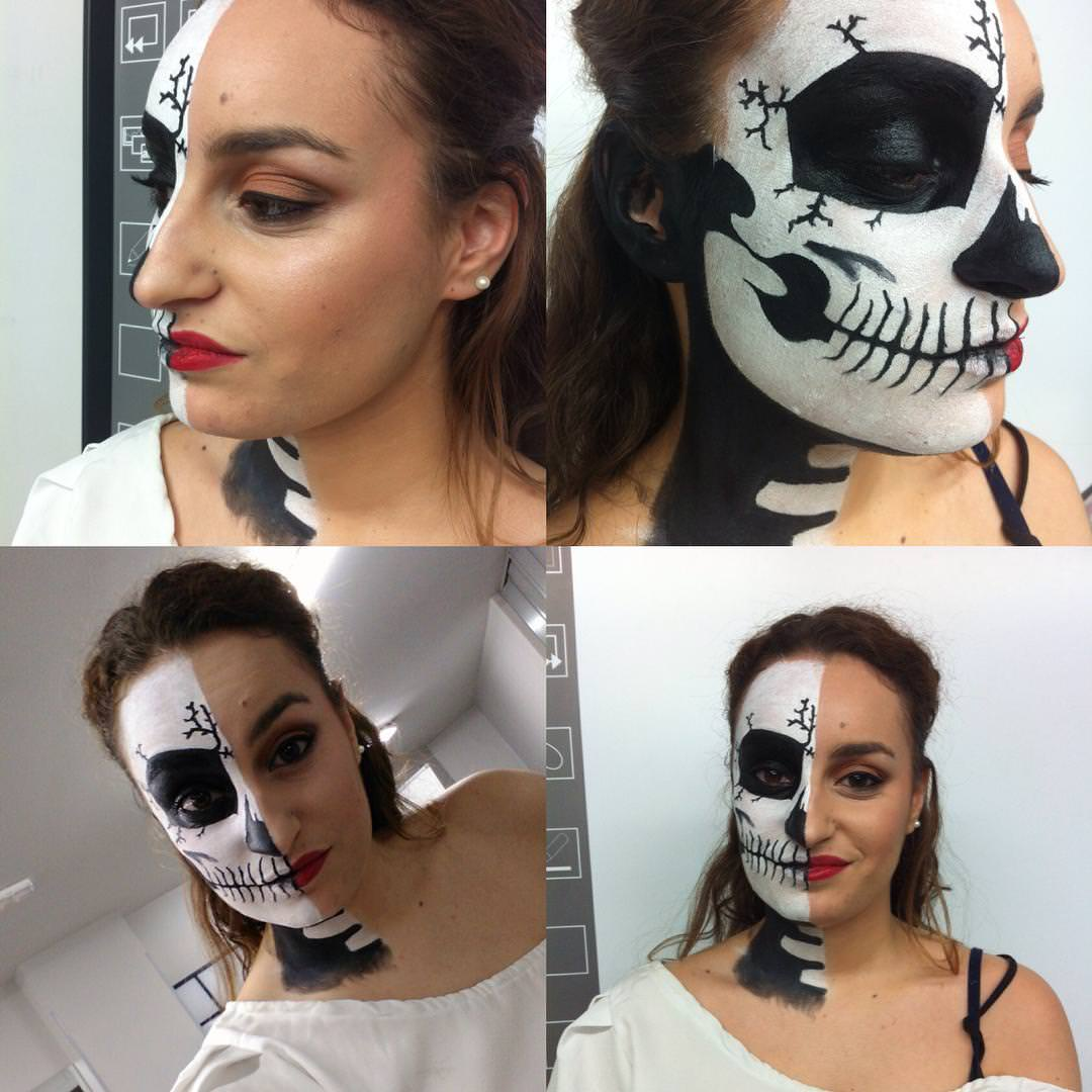 Side Pirate Makeup for Women
