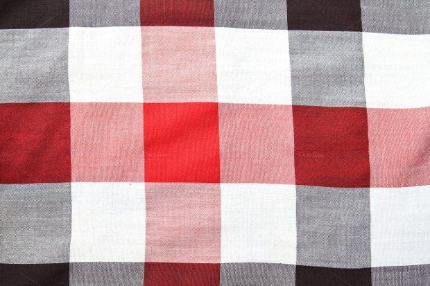 red-square-fabric-pattern