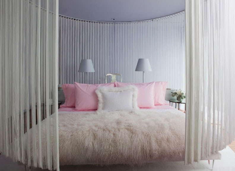Pink Girly Teen Girls Bedroom