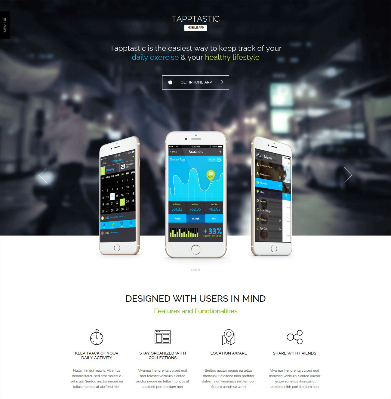 Bootstrap App WordPress Theme