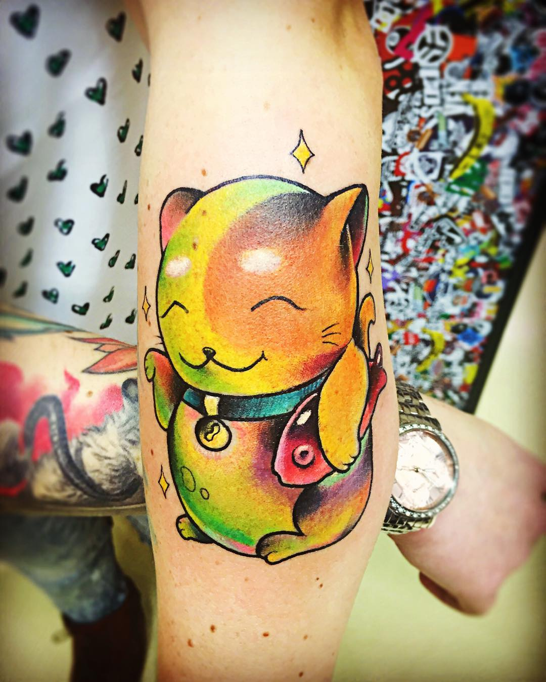 30 cat tattoos tattoo designs design trends for Hairless cat tattoo