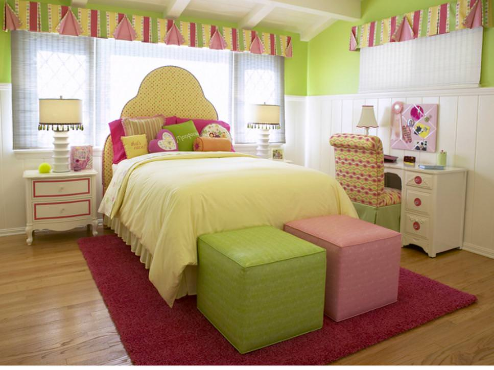 23+ Chic Teen Girls Bedroom Designs, Decorating Ideas ... on Girls Bedroom Ideas  id=25568