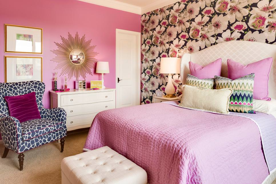 Pink Teen Girls Bedroom Ideas