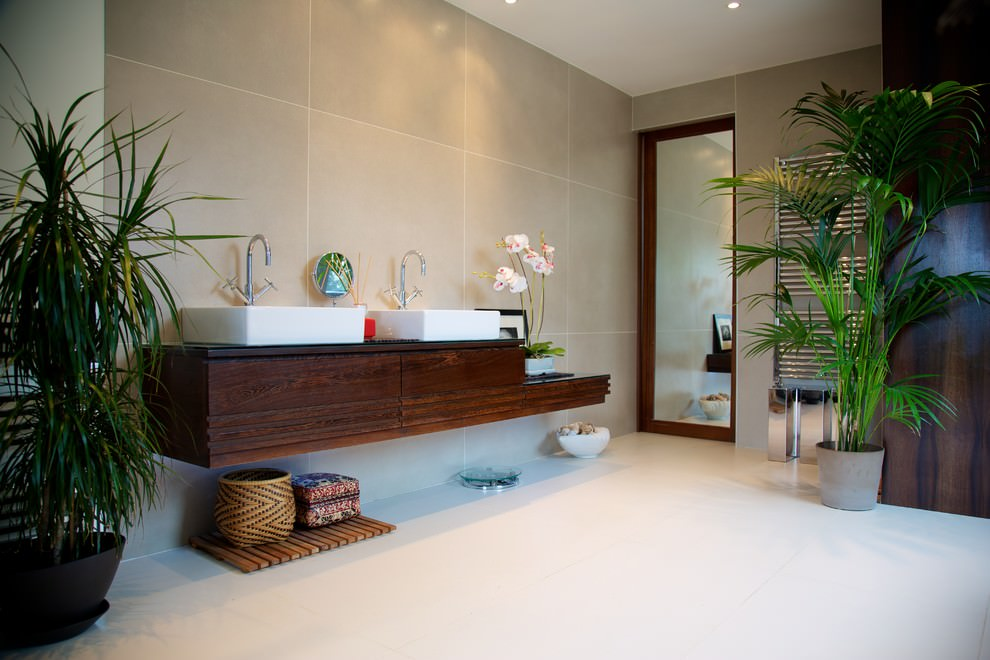 22 nature bathroom designs decorating ideas design Natural decorating