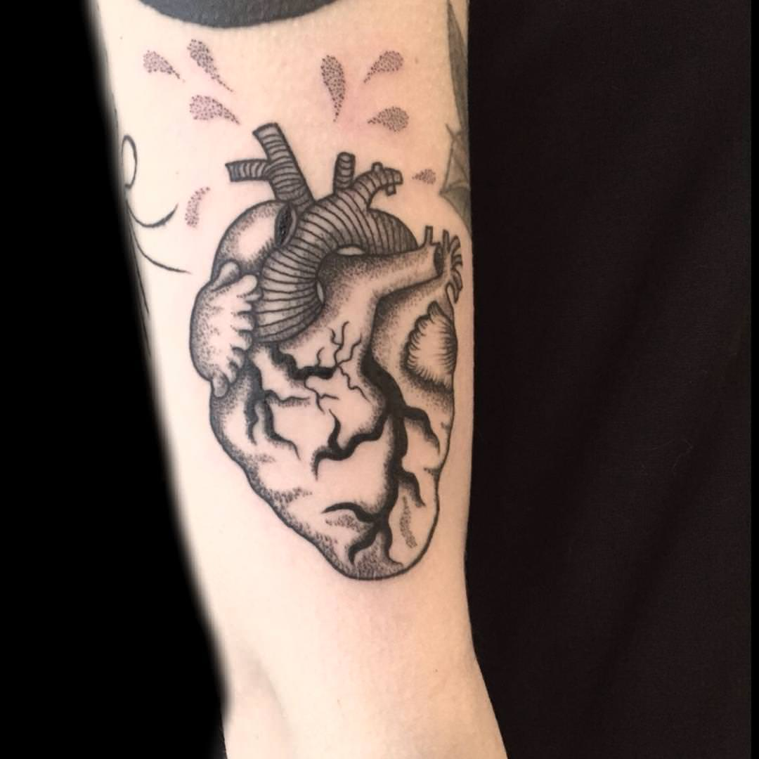 Amazing Heart Tattoo