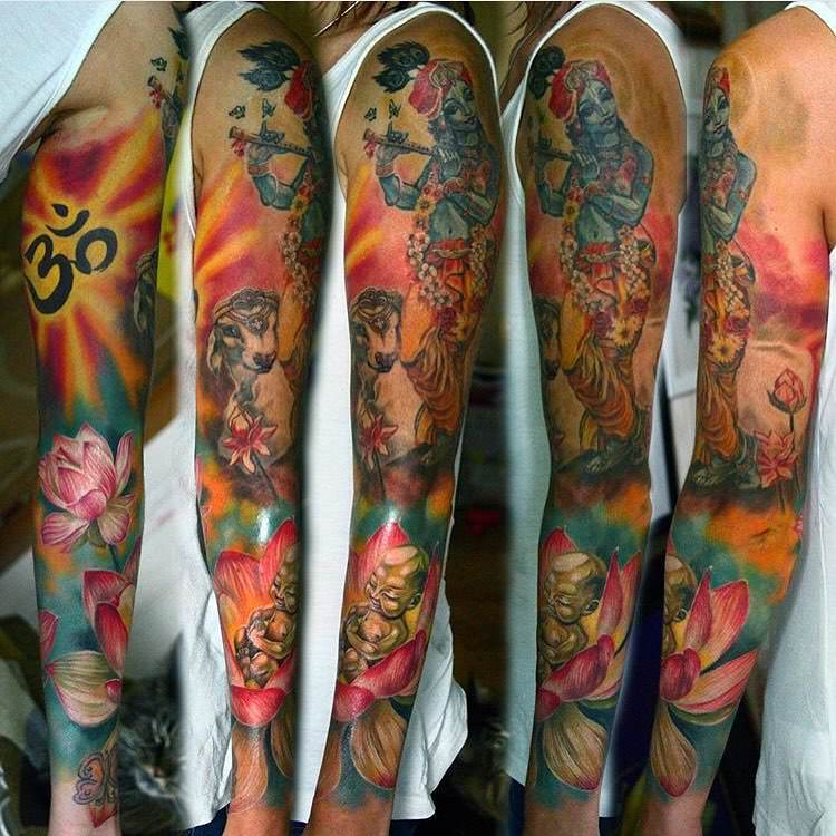 God-Sleeve Tattoo for Men