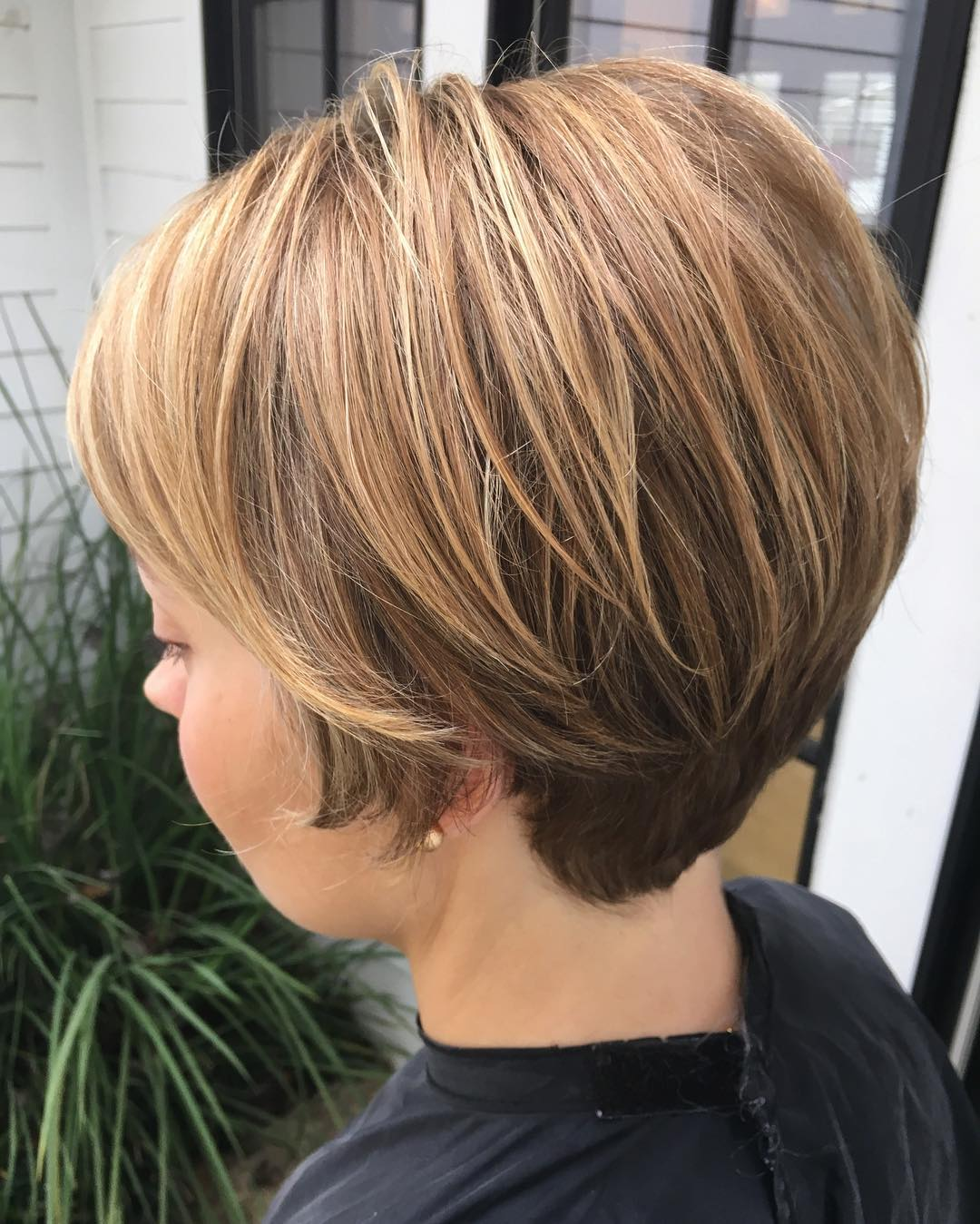 Colored Bob Hair