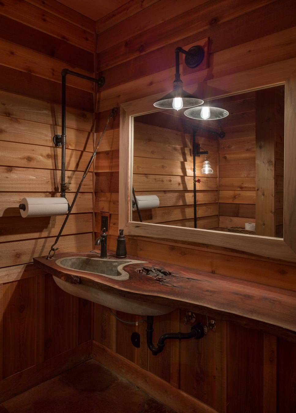 Wood Bathroom Decorating Ideas ~ Nature bathroom designs decorating ideas design