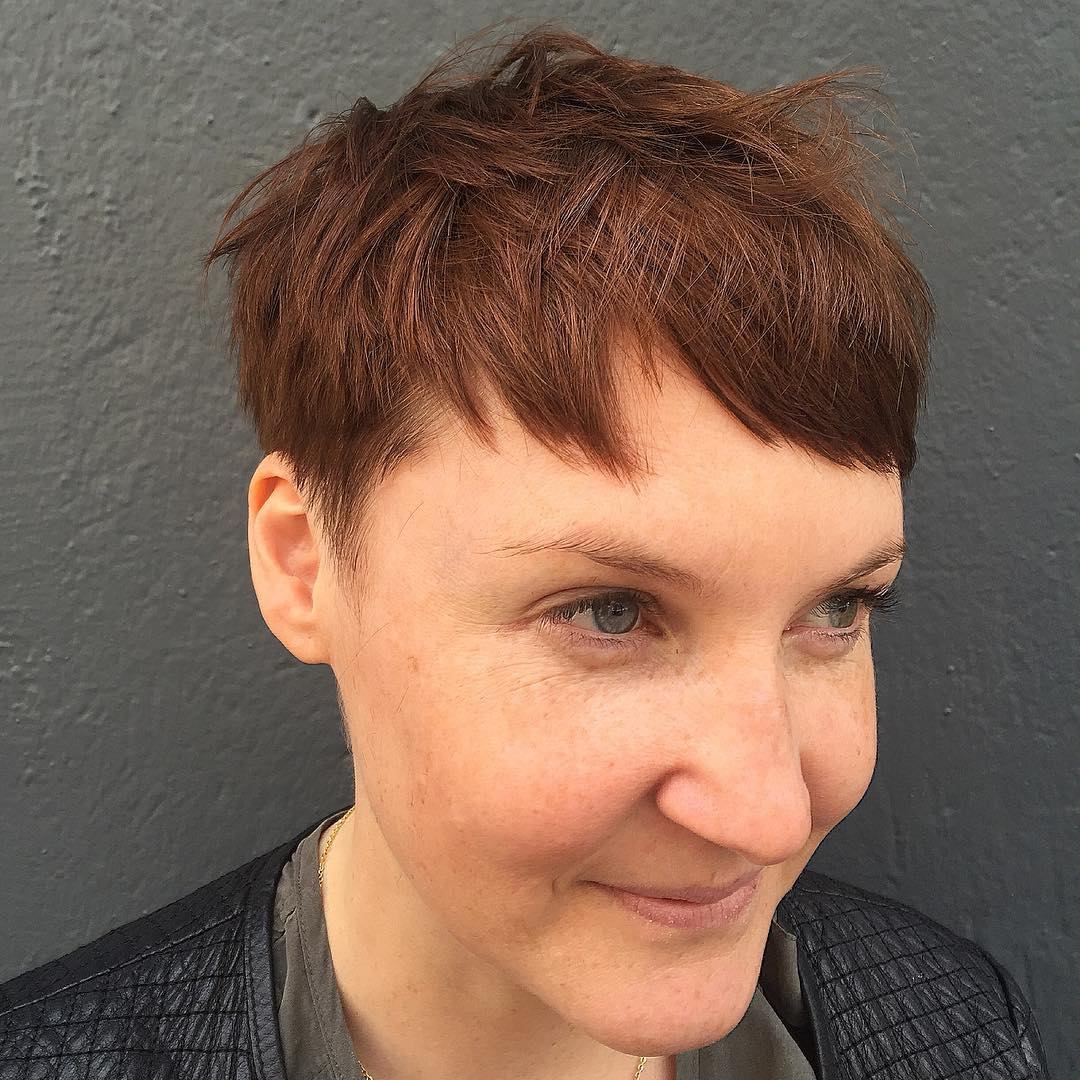 Awesome Pixie Haircut.