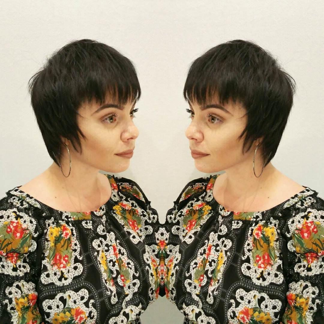 elegant pixie haircut
