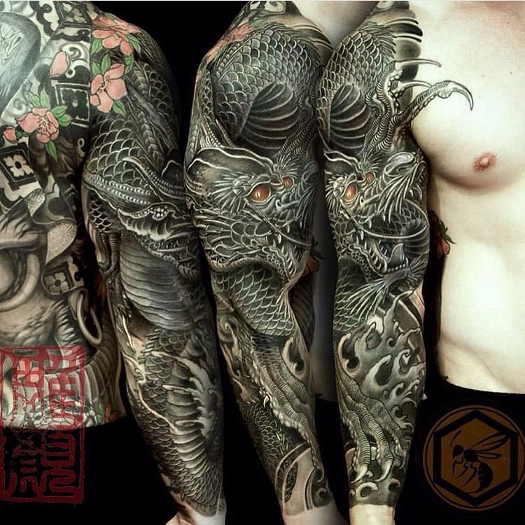 Wondrous Sleeve Tattoo for Men