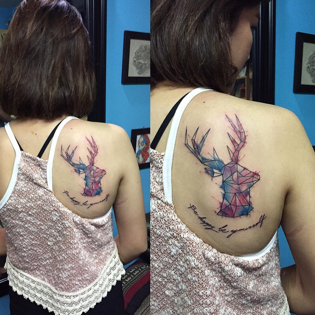 Tattoo Designs Tattoo Pictures: 26+ Deer Tattoos