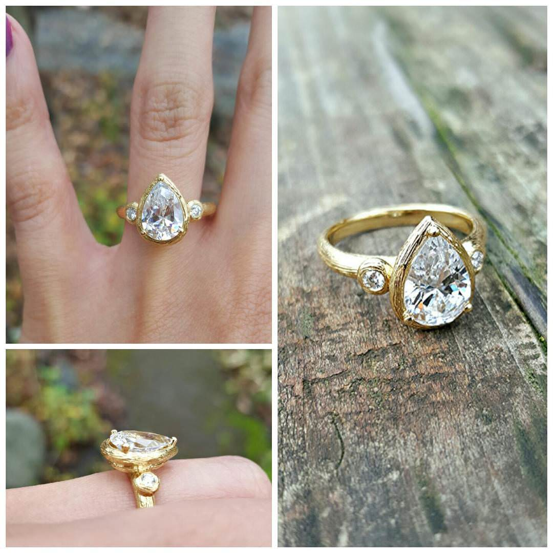 Engagement Rings Gold Yellow