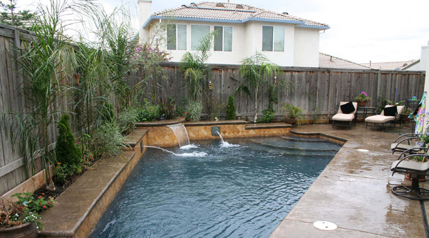 inground small swiming pool ideas