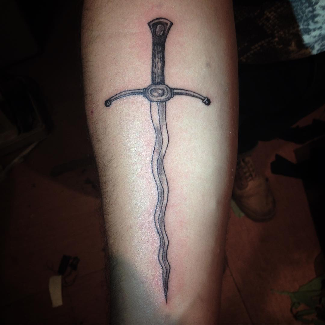 Awesome Sword Tattoo