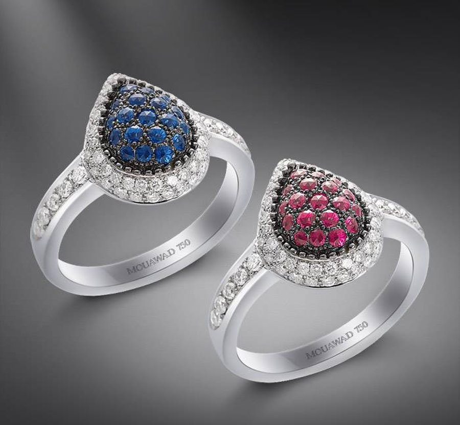 mouawad rings of diamond