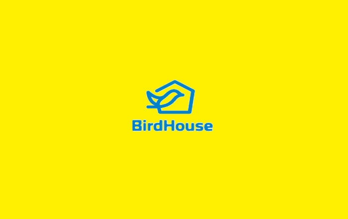Bird House Logo Design