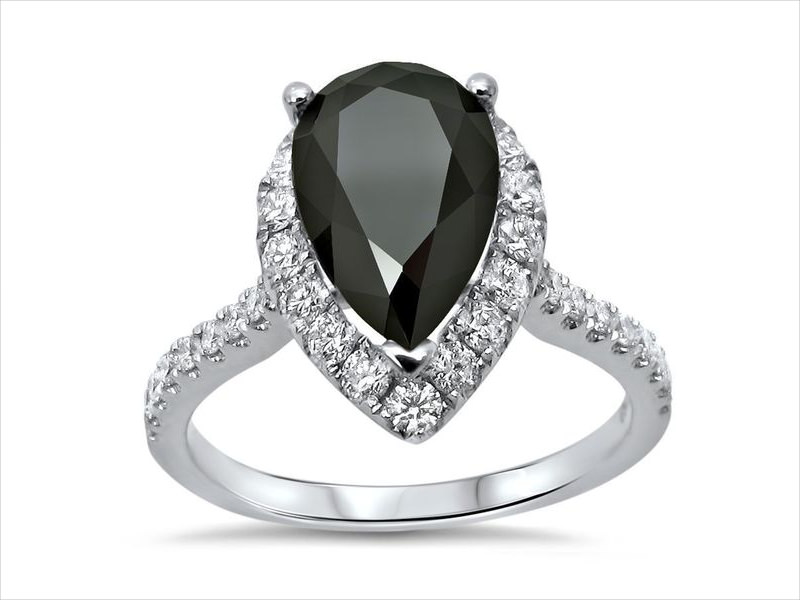noori black diamond ring