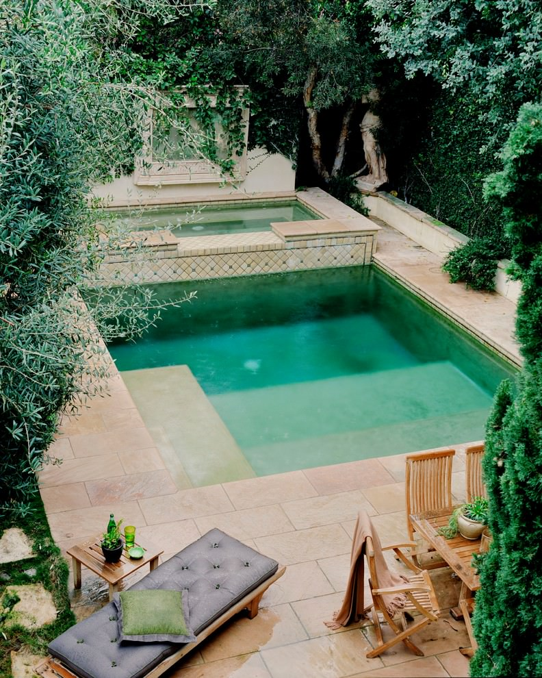 24 small swimming pool designs decorating ideas design for Garden pool plans