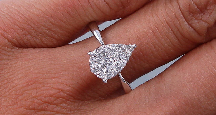 23 Pear Shaped Engagement Ring Designs Trends Design