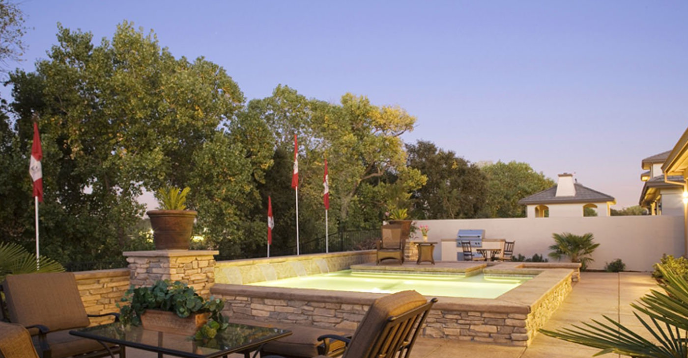 24+ Small Swimming Pool Designs, Decorating Ideas   Design Trends ...