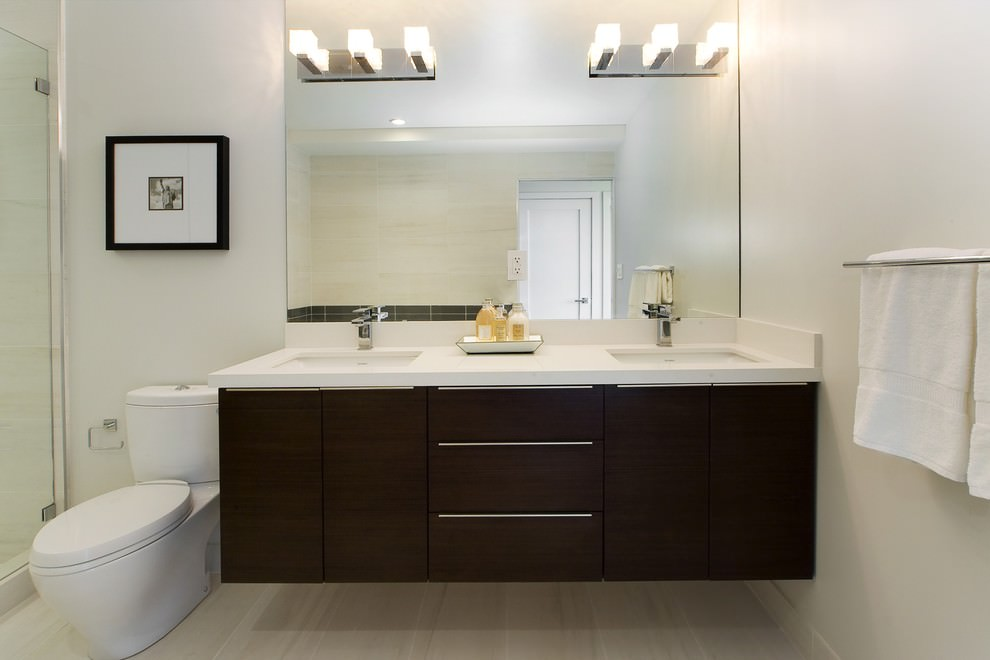 Double Vanity Cabinets Ideas