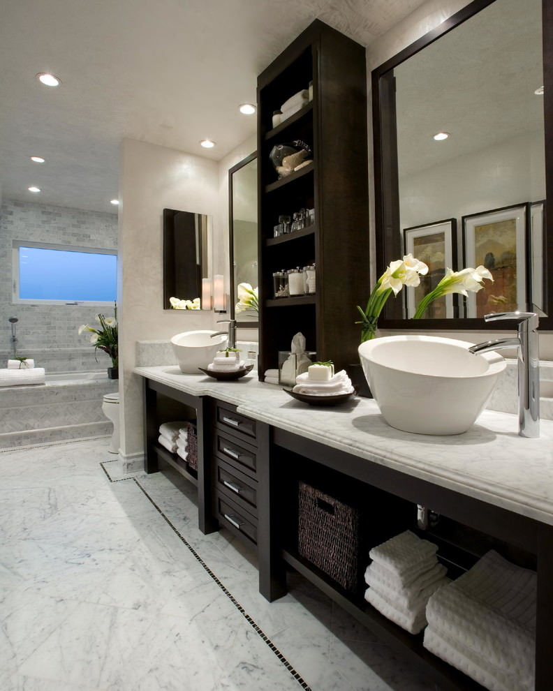 MArble Batrhroom Vanity Ideas