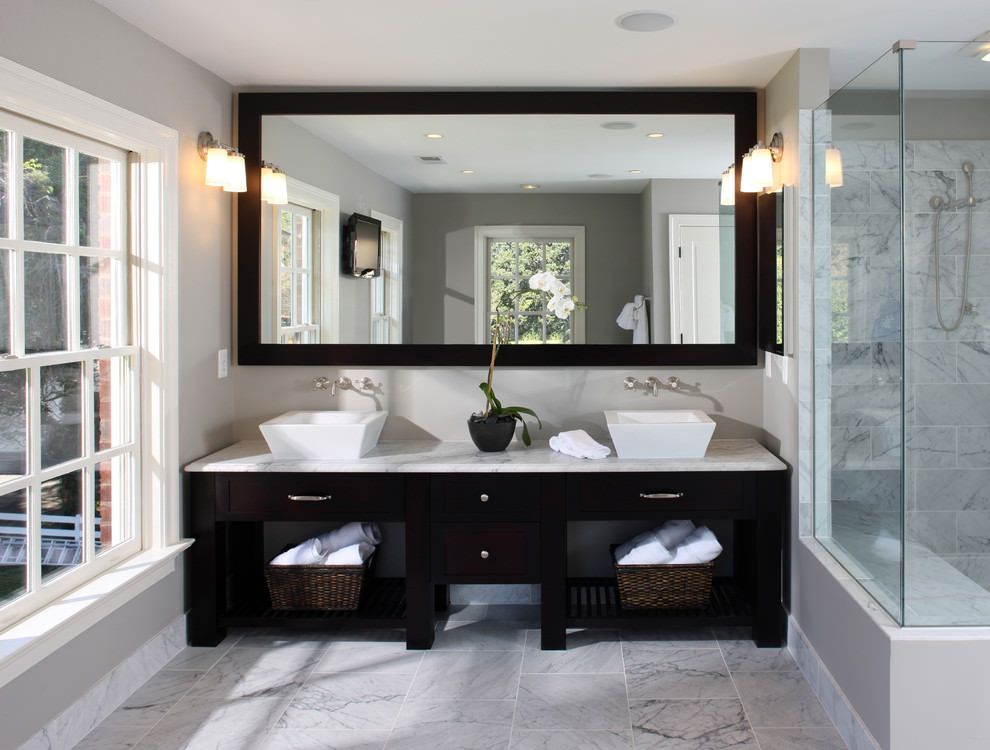 24+ Double Bathroom Vanity Ideas | Bathroom Designs | Design Trends ...