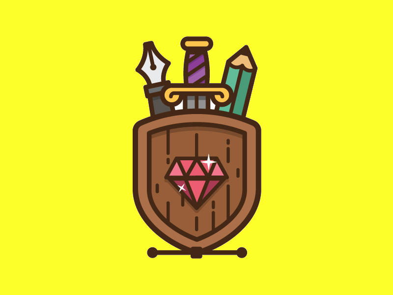 shield logo illustration